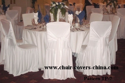 Excellent Ruffled Chair Covers Ivyleaf Patterned Cloths Lifetime Gmtry Best Dining Table And Chair Ideas Images Gmtryco