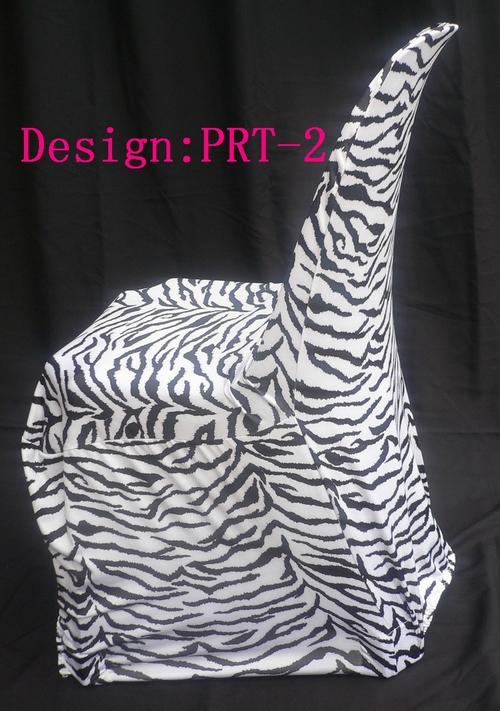 Zebra Print Lycra Chair Covers Zebra Print Spandex Chair